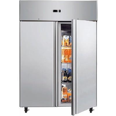 BROMIC UC1300SD 1300L Stainless Steel Gastronom 2 Door Storage Chiller