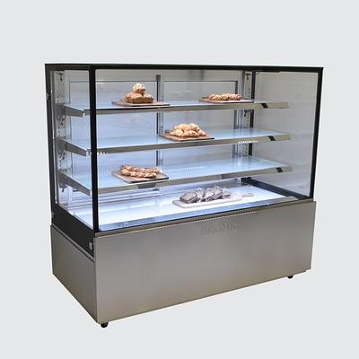 BROMIC FD4T1500A 1500mm 686L 4 Tier - Ambient Food Display