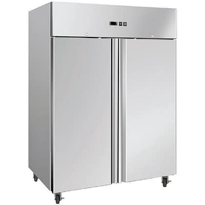 BROMIC UF1300SDF 1300L Stainless Steel Gastronorm Double Solid Freezer