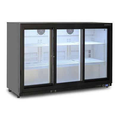 BROMIC BB0330GDS-NR Back Bar Fridge 307L (Sliding Door)
