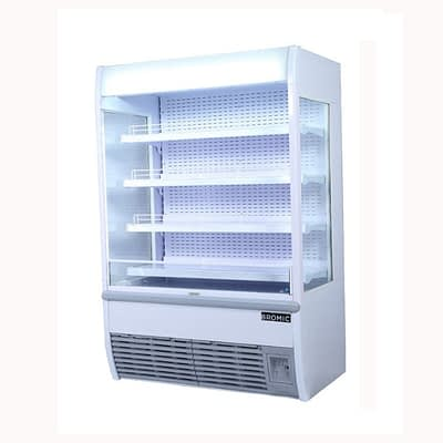 Dairy Cases Cabinets Refrigerated Open Upright Display