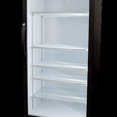 BROMIC GM0690LB ECO Flat Glass Door 690L Upright Display Fridge with Lighbox